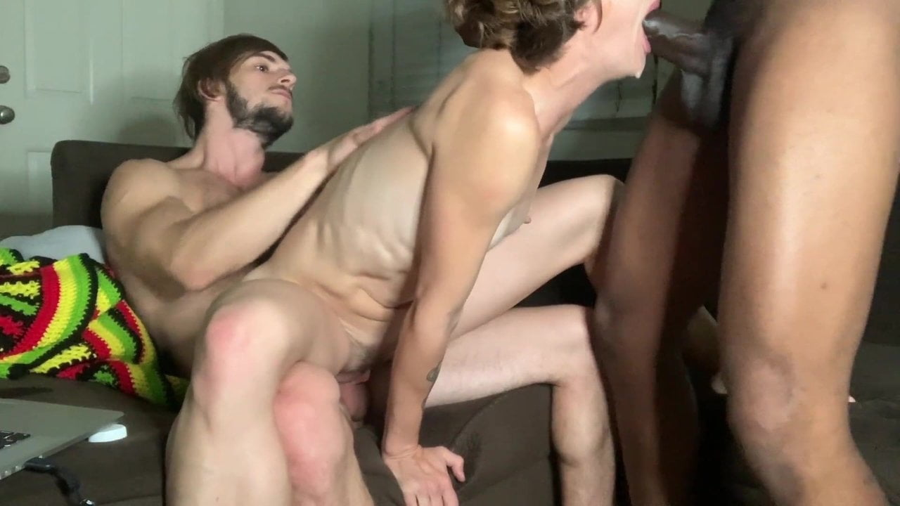 Bisexual Threesome Party With Dogging And Bbc Deepthroat-3796